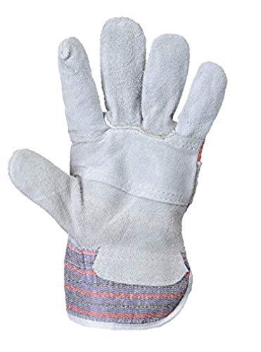 Portwest Canadian Rigger Glove Grey XL R & Bandana Bundle