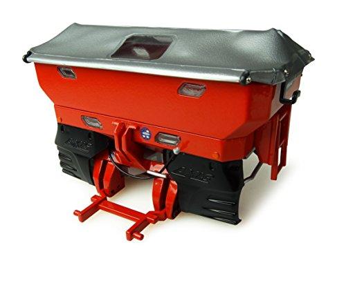 Universal Hobbies–uh4980–uh4980–Dispensador de Fertilizante Kuhn Axis 402–Rojo–Escala 1/32