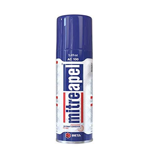 Mitreapel Activator Spray (3.4 fl oz) Accelerator for CA Super Glues