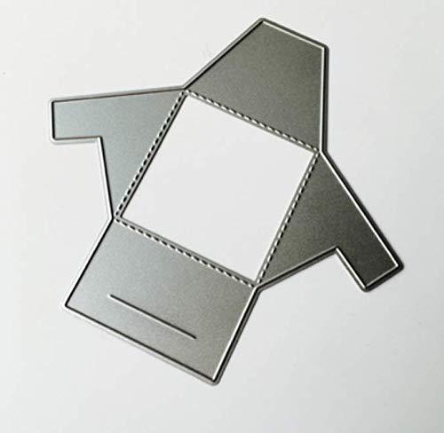 Gevouwen envelop snijden sjabloon DIY mes knurling machine papier machine handgemaakte hand account die Cutter