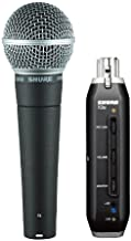 Shure SM58-X2U Cardioid Dynamic Vocal Microphone with X2U XLR-to-USB Signal Adapter