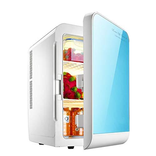 Refrigerador de insulina Congelador pequeño para el hogar automóvil Decibelios pequeños Ahorro de Espacio Congeladores (Color: Azul, Tamaño: 28 * 35 * 41cm / 11 * 14 * 16 Pulgadas)