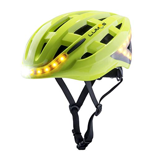 LUMOS Kickstart Smart Helmet (Electric_Lime, MIPS) | Bike Accessories |...