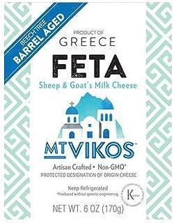 Mt Vikos Barrel Aged Feta Cheese, 6 Ounce - 6 per case.