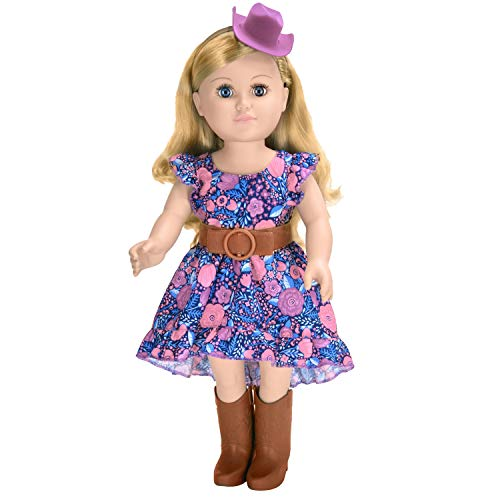 My Life As 18' Poseable Cowgirl Doll, Blonde Hair