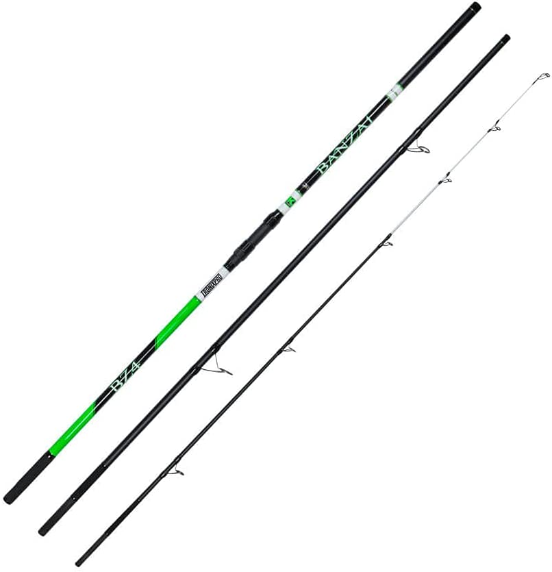 Tronixpro Unisex's Banzai BZ4 Rod Special Campaign Fishing 4.2m Black Fixed price for sale