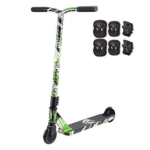 YF-Mirror Tricks Scooters - Patinete Profesional Freestyle para jóvenes y Adultos   Scooters de Acrobacias para niños, intermedios y Principiantes