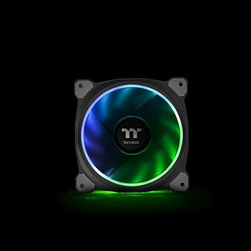 Thermaltake Riing Plus 14 RGB LED (mit Software, 3er Set) Gehäuselüfter