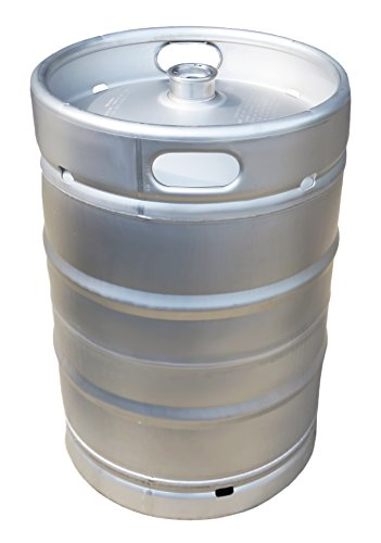 1/2 BBL American Made Stainless Steel Commercial Half Keg - 15.5 gal.
