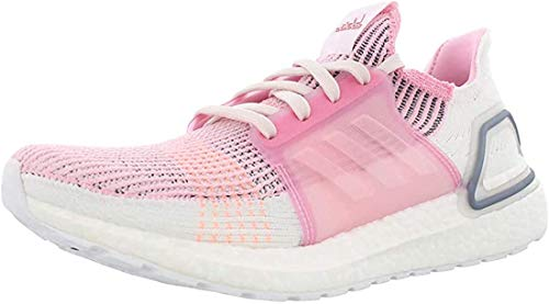 adidas Ultraboost 19 Womens in True Pink/Orchid Tint, 8