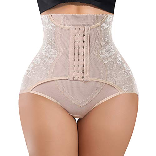 YERKOAD Tummy Control Panties for Women Shapewear Butt Lifter Short High Waist Trainer Corset Slimming Body Shaper Underwear