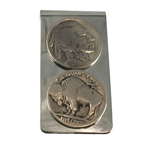 buffalo nickel money clip - 7