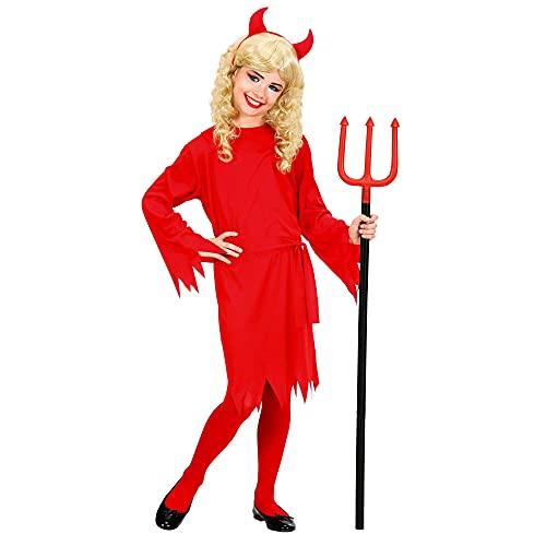 Costume Bambina Diavolessa Taglia 140 cm / 8-10 Anni