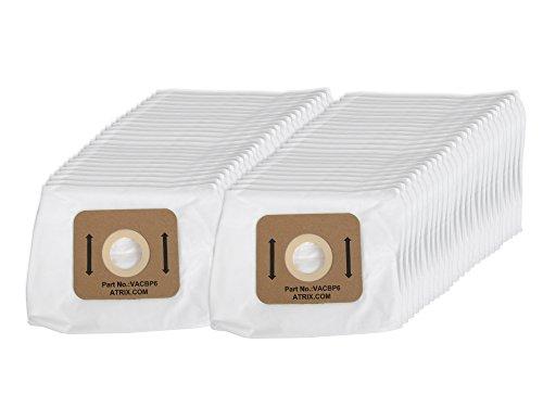 Atrix - VACBP6-50 Vacuum Filters - Backpack Vac 8-Quart Replacement HEPA Filters (50-Pack)