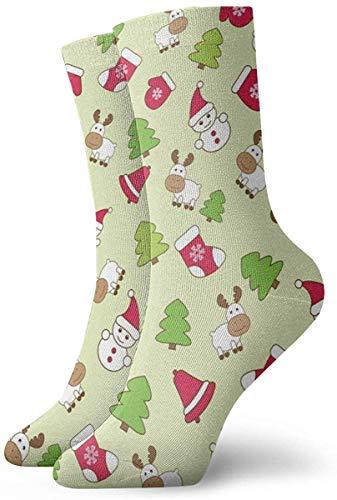 Divertido colorido bebé invierno de patrones sin fisuras calcetines de vector calcetines al aire libre para unisex