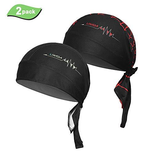 Lixada Ciclismo al Aire Libre Ajustable Headwrap Transpirable Quick-Dry Bicicleta Diadema Cap Motocicleta Ciclismo Pañuelo en la Cabeza
