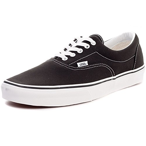 Vans U Era - Baskets Mode Mixte Adulte - Noir (Black) - 43 EU