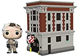 Funko 39454 Pop Town: Ghostbusters-Peter with House Collectible Figure, Multicolor