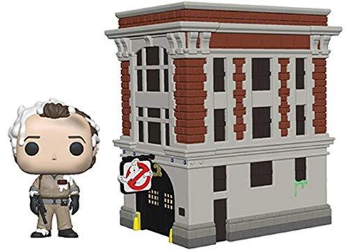 Funko 39454 POP! Vinyl: Movies: Ghostbusters: Peter w/House Town Statuetta da collezione, multicolore