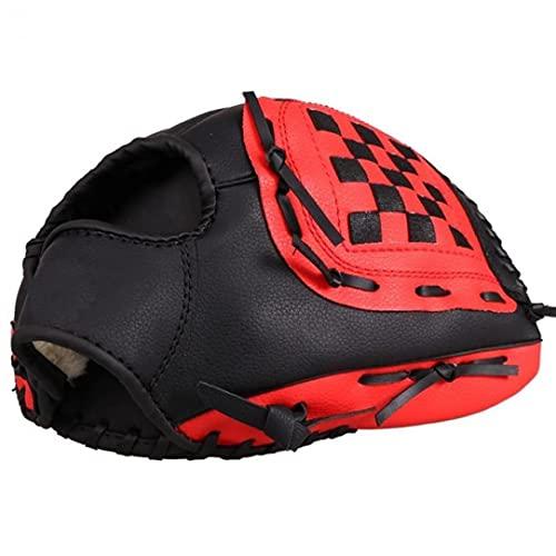 para Niños/Adultos PVC Hecha a Mano del Guante De Béisbol Softball Equipo De Práctica 9.5/10.5/11.5/12.5 Pulgadas a Mano Izquierda
