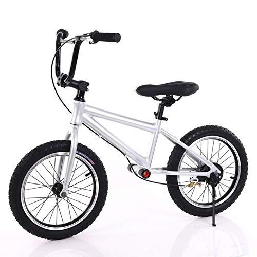 ERLAN Bicicletas sin Pedales Bicicleta de Equilibrio Silver Big Kids con Reposapiés...