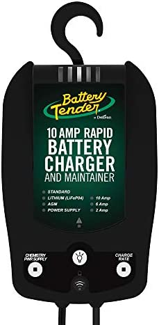 Battery Tender 10 AMP Rapid 12 Volt Car Battery Charger Automotive 12 Volt 6 AMP and 2 AMP Selectable product image