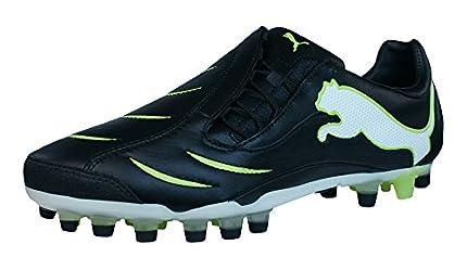 Puma PowerCat 2.10 Synth Grass Piel Hombre Botas de fútbol - Negro-Black-45