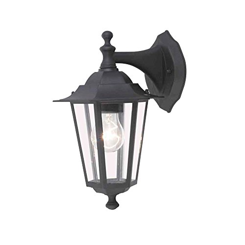 Garza Lighting Outdoor - Aplique Descendente AURA, Casquillo E27, Protección IP44 contra...