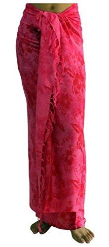 Aprox. 100 modelos en la tienda Sarong toalla de playa Pareo Wickelrock Loop rojo rosa Sar12