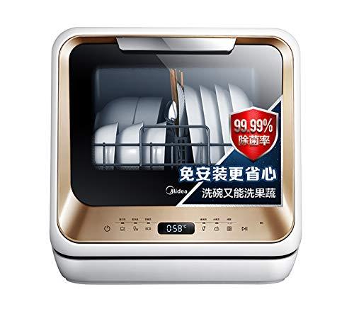 Mini Lave Vaisselles, détaché Mini Mesa électrique Lave-Vaisselle, entièrement Automatique Ménage Lave-Vaisselle, 750w, 420x435x435mm