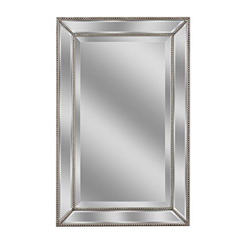 Head West 1228 Wall Mirror, 24 X 36, Silver