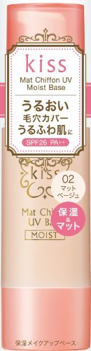 Kiss Mat Chiffon UV Moist-based N02iGreen Tea Set)