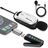 Wireless lavalier Microphone for iPhone &...