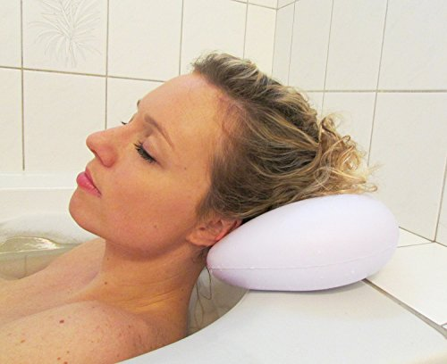 Curv Bath Pillow – Ultimate Comfort and Spa Relaxation, With Heavy Duty Suction Cups. Luxury...