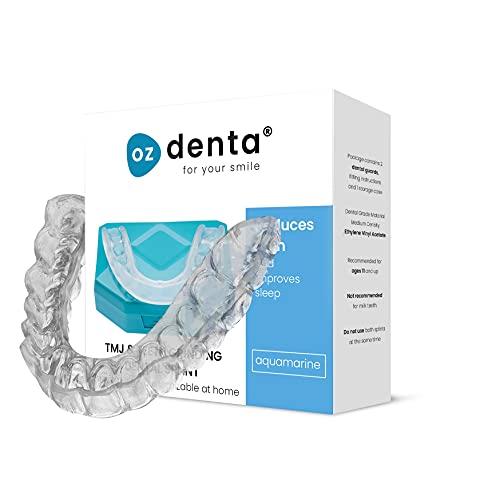 2 x Premium Férula Dental Placa de Descarga Nocturna Protector Bucal para dormir, contro Bruxismo Rechinar los dientes y los Trastornos del ATM