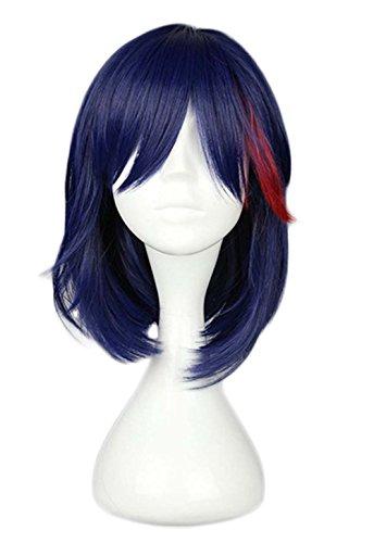 etruke Anime court KILL la Kill Violet Rouge Lolita Cosplay Perruques