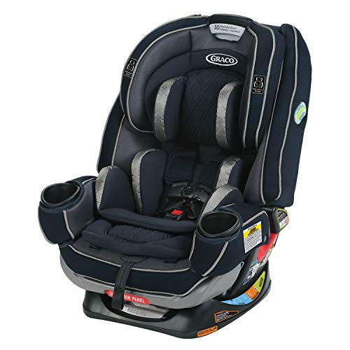 Graco 4Ever Extend2Fit Platinum Convertible Car Seat, Ottlie