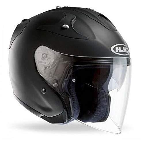 HJC Casque Moto FG-JET, Noir, Taille M