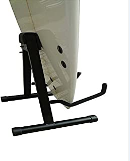 YYST Single Surfboard Longboard SUP Stand Display Rack Surf stand Surfboard Display Stick Stand -Fit Both Longboards and Shortboards