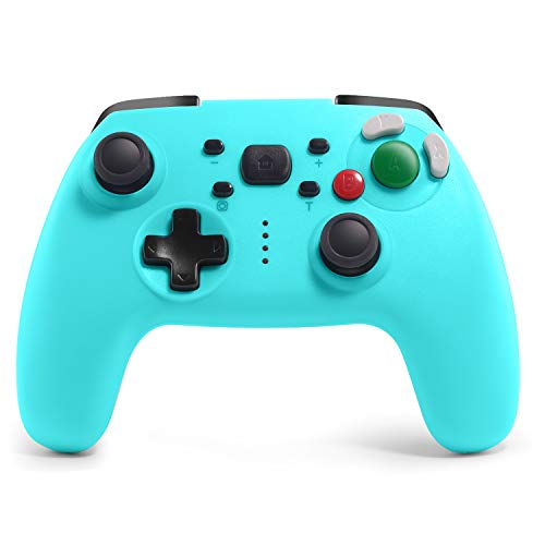 JAMSWALL Controller Kompatibel für Switch, Rechargeable Remote Controller Wireless Gamepad Joystick Adjustable Turbo Dual Shock Gyro Axis Kompatible mit Nintendo Switch/Switch Lite