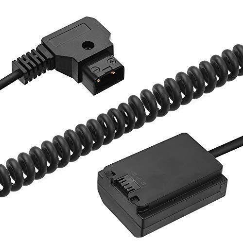 Andoer D-Tap a LP-E6 Adaptador de CC Accesorio de Batería Simulada Totalmente...