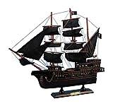 "Hampton Nautical Blackbeard's Queen Anne's Revenge Pirate Ship, 15"""
