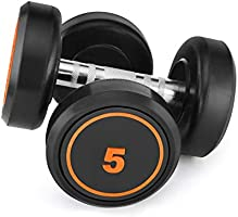 Klikfit Rubber Dumbbells, (Black)