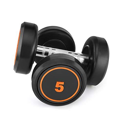 Klikfit Rubber Coated Dumbbell Set for Home Gym Workout