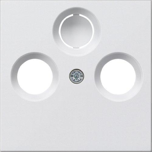 Gira Koax-Abdeckung ST55 reinweiß, 086927