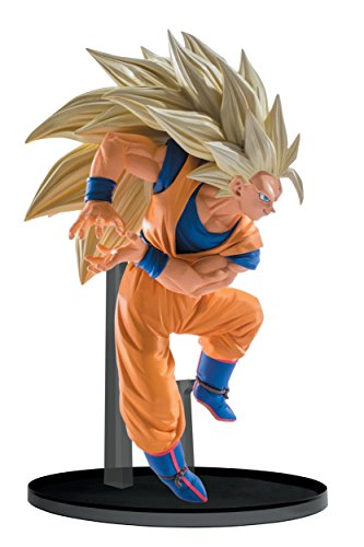 Banpresto Dragon Ball Super Saiyan 3 Goku esculturas Big Budoukai 6 Volumen 6 Figura, 5,1