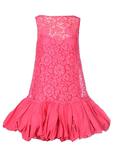 Valentino Luxury Fashion Damen TB3VALL64H2175 Fuchsia Viskose Kleid | Frühling Sommer 20