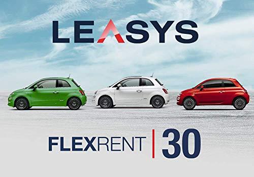 Pass offerta Leasys FlexRent 30. Noleggio auto di durata 30 giorni rinnovabili