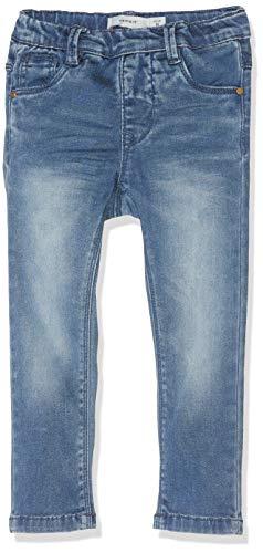 NAME IT Mädchen Jeans NMFPOLLY DNMTORA 2157 Legging NOOS, Blau (Medium Blue Denim), (Herstellergröße:110)