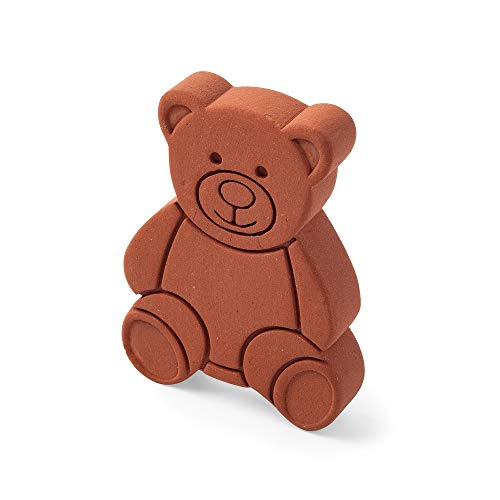 Terracotta Brown Sugar Bear Keeper and Saver, 1 pack
